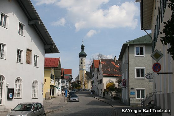 Strasse in Bad Tölz